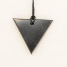 Colgante Shungite Triángulo
