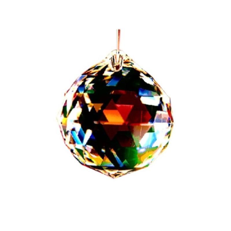 Cristal Transparente de Esfera 30 mm