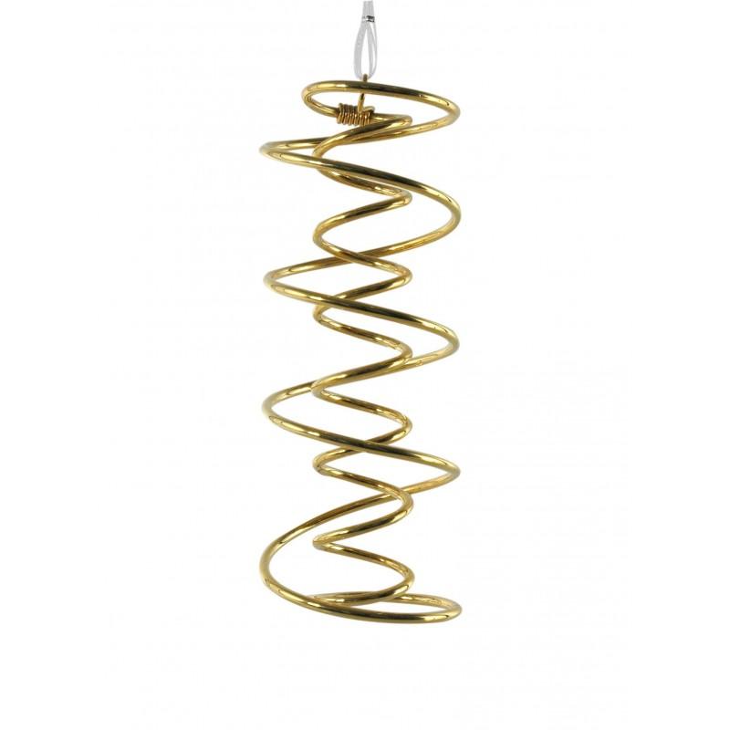 espiral ADN Bañada en Oro