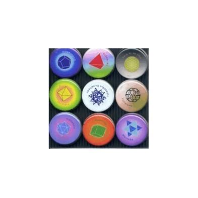 Imanes de Geometría Sagrada