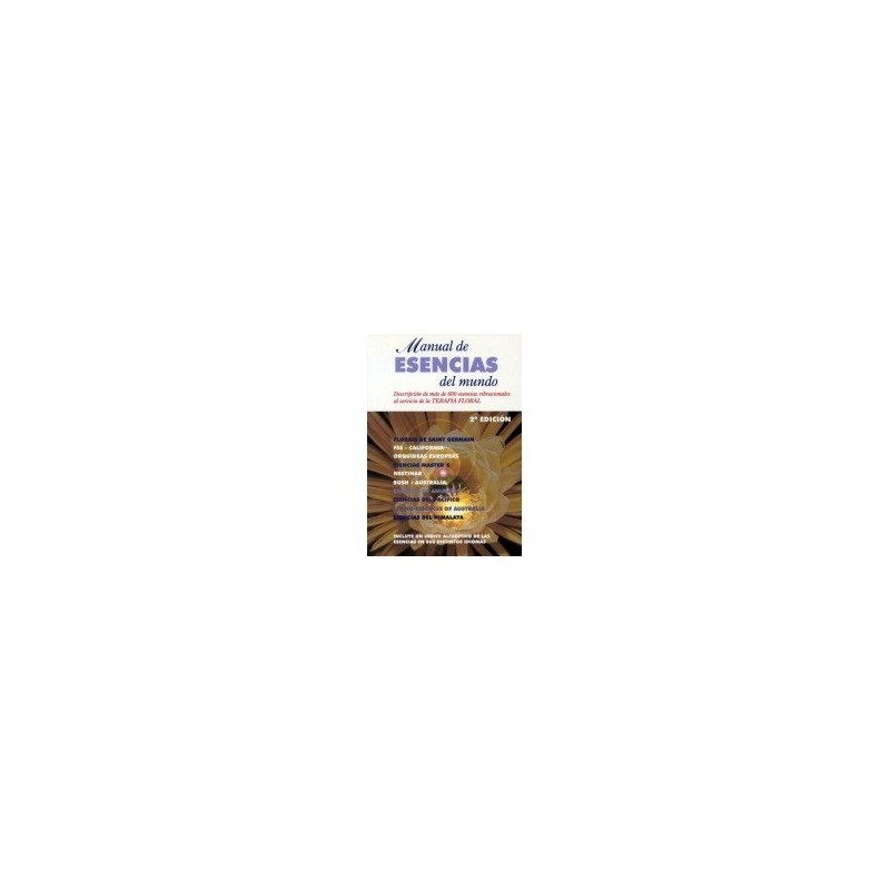 Libro 'Manual de Esencias del Mundo' del Equipo Nestinar